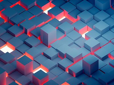 Embers photoshop pattern background wallpaper geometric blender 3d