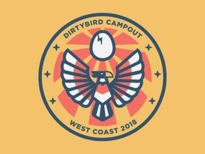 Dirtybird Campout Patch 3