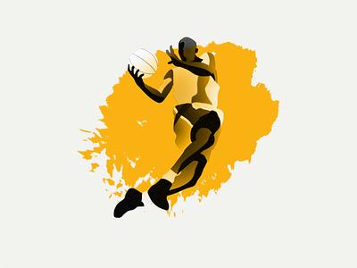 Basketball professional ball vector halftone paint design illustration nba basketball athlete sports