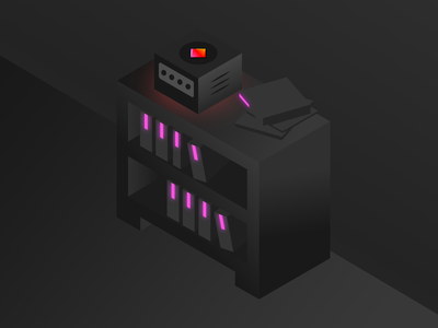 Game Library Illustration gaming app vector light gradient flat geometric retro competitive esports icon illustration isometric playstation xbox pc gamecube games library video games