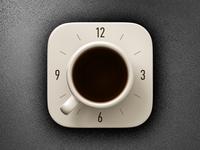 Coffee Alarm Clock iOS icon