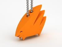 Yamaarashi keychain available via shapeways or make.dmm (JP)
