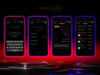 Ventus AV (UK) iOS app UI