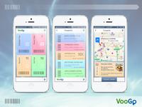 VooGo (UK) coupon service app iOS UI
