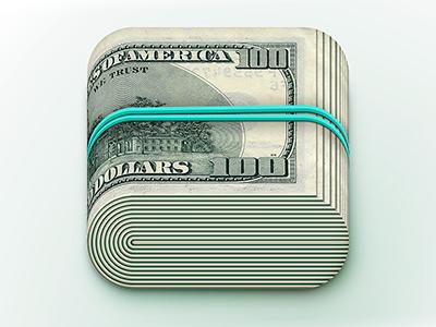 Typical price icon ios retina ipad iphone money