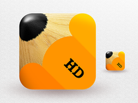 Pencil HD  pencil ios icon ipad iphone retina app