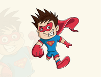 Super Kid character deisgn