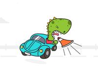 Distruptsaurus Dinosaur