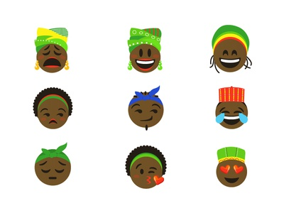 African Emojis
