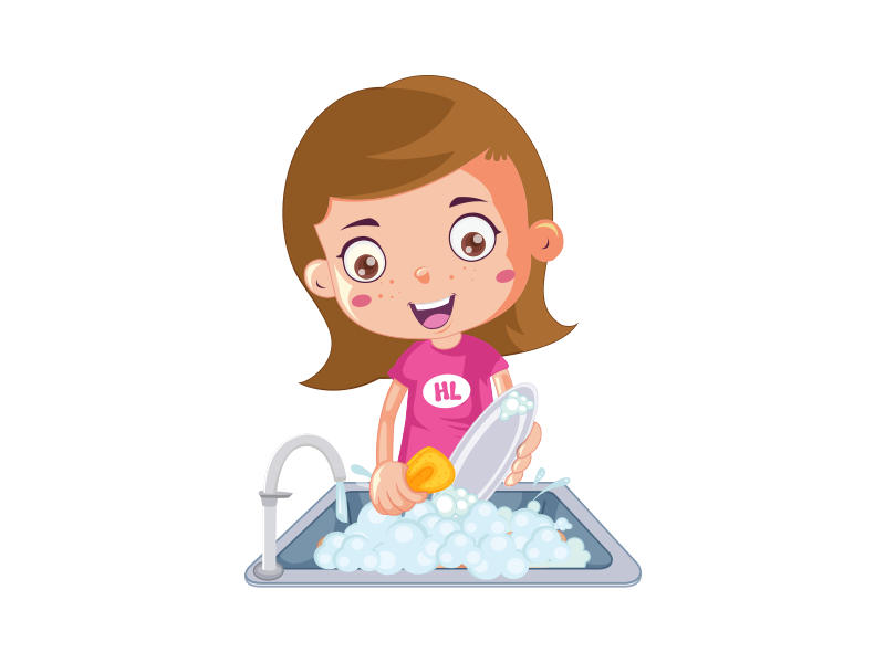 Wash Your Dishes On Your Own By Shallu Narula On Dribbble