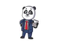 Finance Panda Mascot