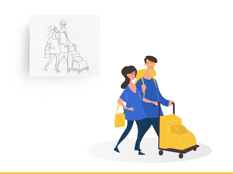 Custom illustrations for coach direct custom illustration modern illustration flat illustration icon cartoon illustration website illustration landing page illustration vector illustration
