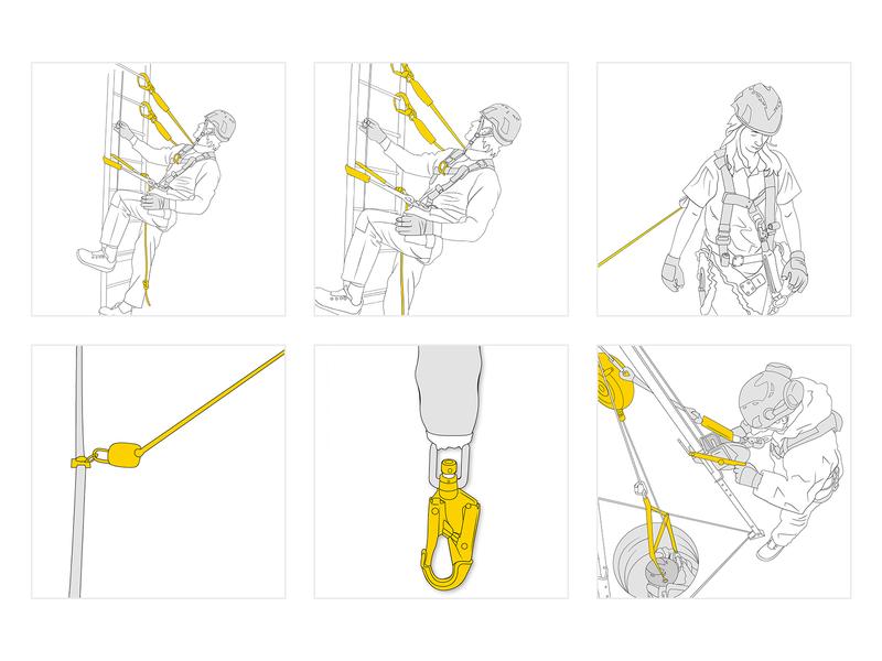 Instructional Illustrations infographic instructions illustrations mascot illustration design character cartoon vector