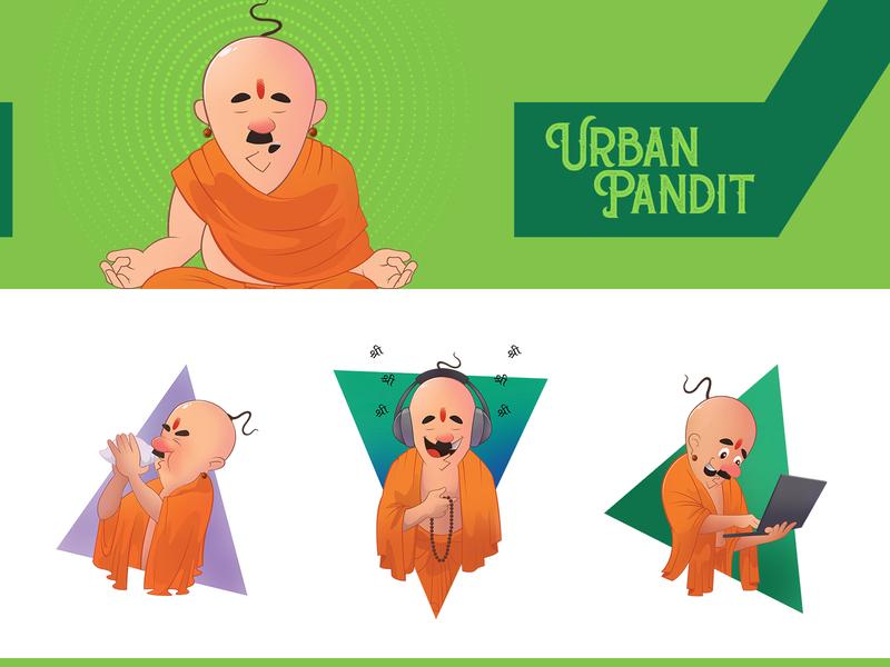 Pandit thumbnail dribbble