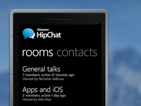 HipChat for Windows Phone