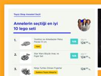 Toyzzshop New UI - Boxes & Top Lists