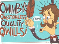 Quimby's!!