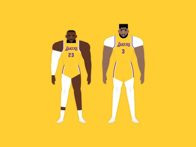 LeBron & AD nba finals playoffs sport los angeles lebron james anthony davis lebron lakers basketball nba