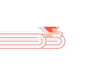 Le Fast bycicle race ride cyclist cycling vélo illustrator cycle bike logo