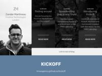 Personal site, blog link feedback