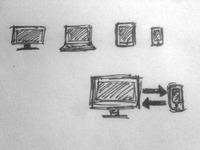 Responsive Icon sketch