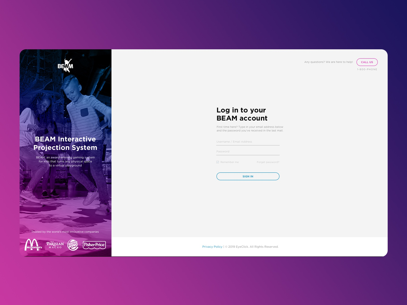 Dribbble - login jpg by Roee Lavan