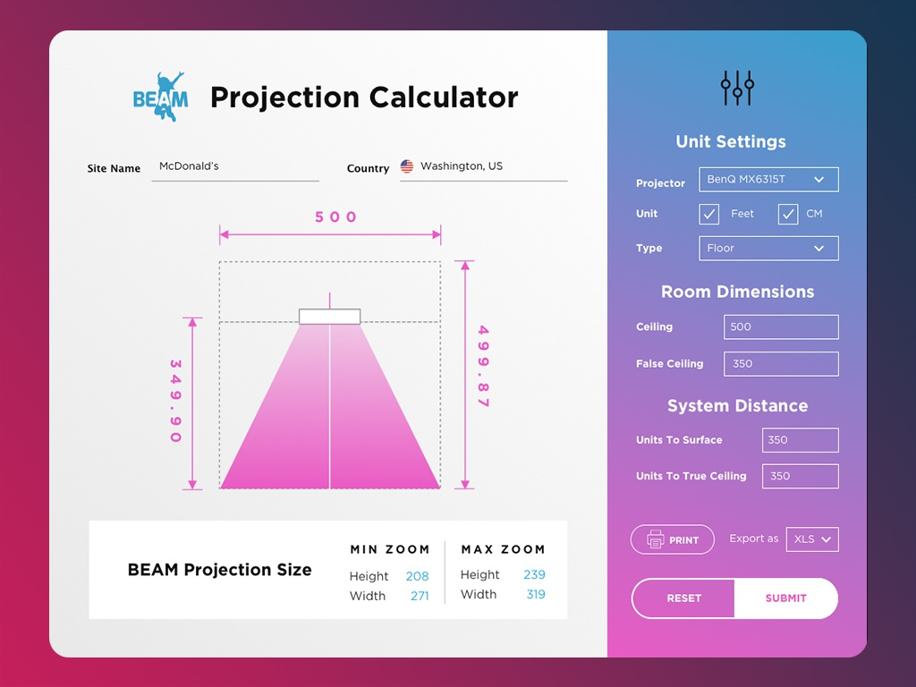 #3 day in 30 day UX/UI challenge - Projection Calculator design ui design uidesign ui  ux uiux ui ux design uxdesign ux  ui uxui ux