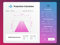 #3 day in 30 day UX/UI challenge - Projection Calculator