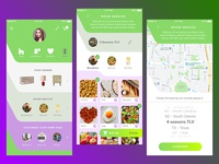 #4 day in 30 day UX/UI challenge - Houzz room service