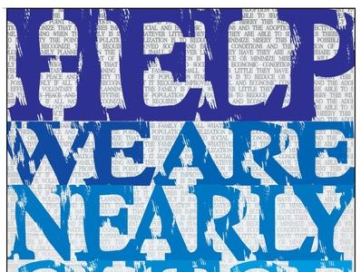 world population day typogaphy poster art graphic design poster flyer design