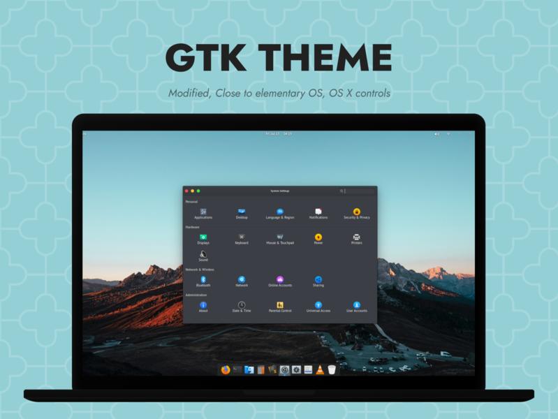 Elementary X GTK Theme ui gtk theme ubuntu elementary os