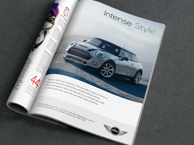 Print Car Ad advertising car magazine ad print ad
