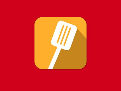 Cooking App Icon - Daily UI #005 dailyui005 flat  design ios app icon app dailyui