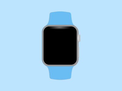 Apple Watch mockup vector mockup apple watch