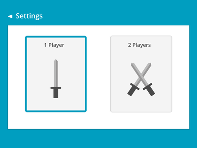 Game Settings Page - Daily UI #007 material design browser game settings dailyui007 dailyui