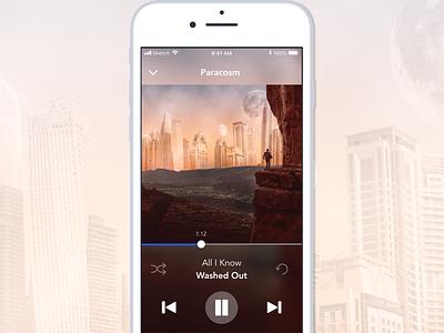 Music Player - DailyUI #009 music player music app dailyui009
