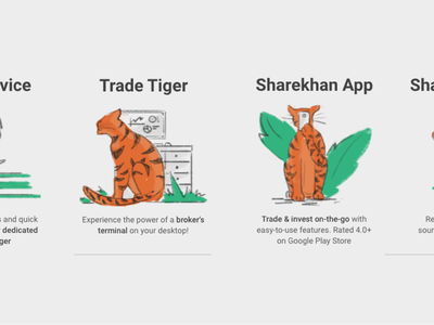 Tiger Illustrations for trading app landing page onboarding app rough style trading investment tiger ux design illustration
