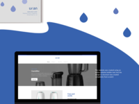 Uran - Product catalogue & website design