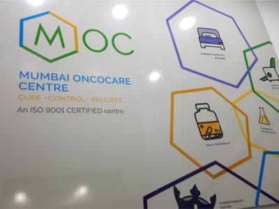 Mumbai Oncocare Centre - Branding & interior graphics visual style graphic design icon design illustration chemotherapy cancer hospital art direction branding