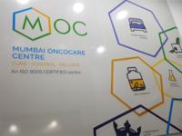 Mumbai Oncocare Centre - Branding & interior graphics