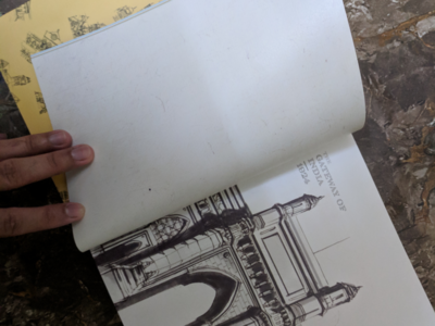 Postcards from Mumbai - A diary and daily planner calendar planner heritage buildings sketches editorial design graphic design diary mumbai