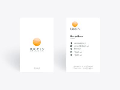 Djools Visit Card