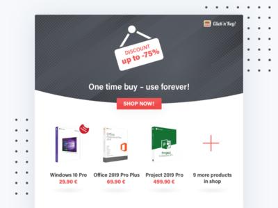 Software discount service design