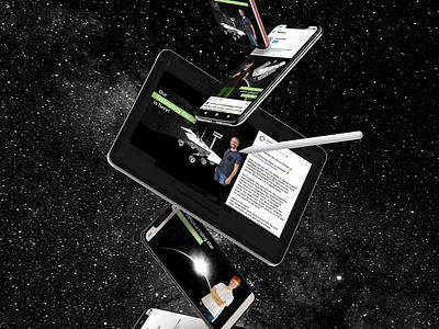 Kiwee Tech Radar design advertising graphic design kiwee facebook social media photoshop drawing space technology web illustration