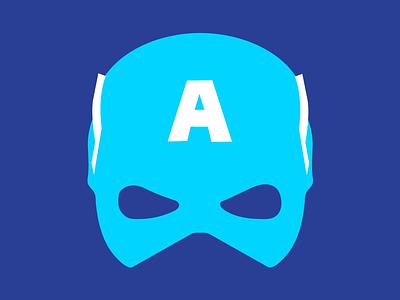 Captain America marvel studios marvel captain america flat illustration