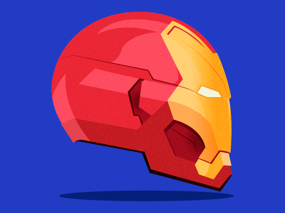 IRON MAN illustrator helmet marvel studios heroes vector iron man illustration design marvel