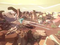 Fly in desert