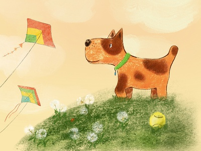 A dog who dreamed of flying