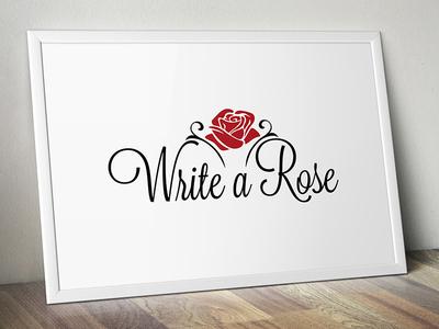 Write a Rose logo write rose