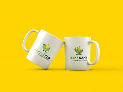 Herba Adria logo design